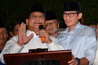 Kata Prabowo Sandiaga Pilihan Terbaik