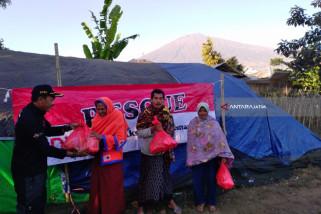 DWJ Distribusikan Bantuan kepada Korban Gempa Lombok