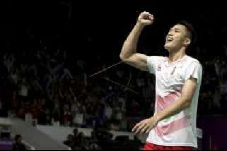 Asian Games - Jonatan Christie Persembahkan Emas