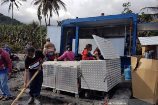 Kemensos Dirikan Dapur Umum, Siapkan Bantuan Pembangunan Rumah di Kampung Gurusina