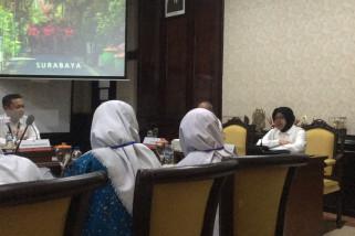 Peserta SMN Sumsel Bertmu Wali Kota Surabaya (Video)