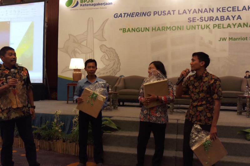BPJS Ketenagakerjaan Surabaya Tingkatkan Sinergitas PLKK