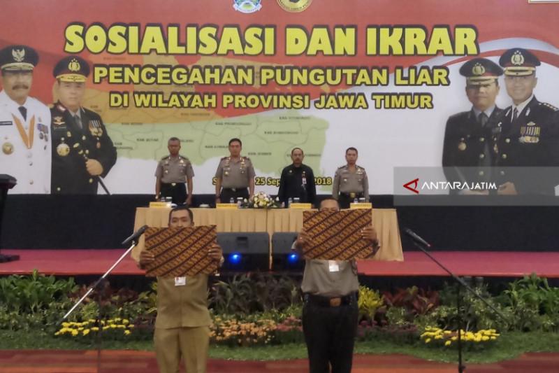 Polda Perbanyak Sosialisasi Pencegahan Pungli di Jatim