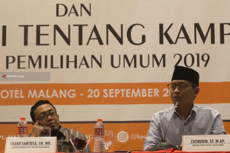 KPU Kota Malang Tetapkan DCT Anggota DPRD
