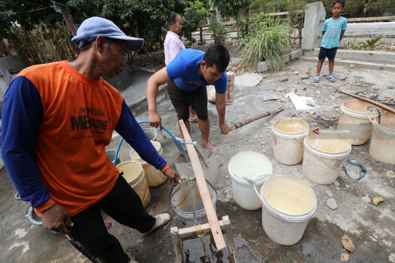 Kekurangan Air Bersih Di Nganjuk