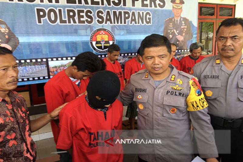 Polres Sampang Tangkap 22 Orang Pelaku Kriminal