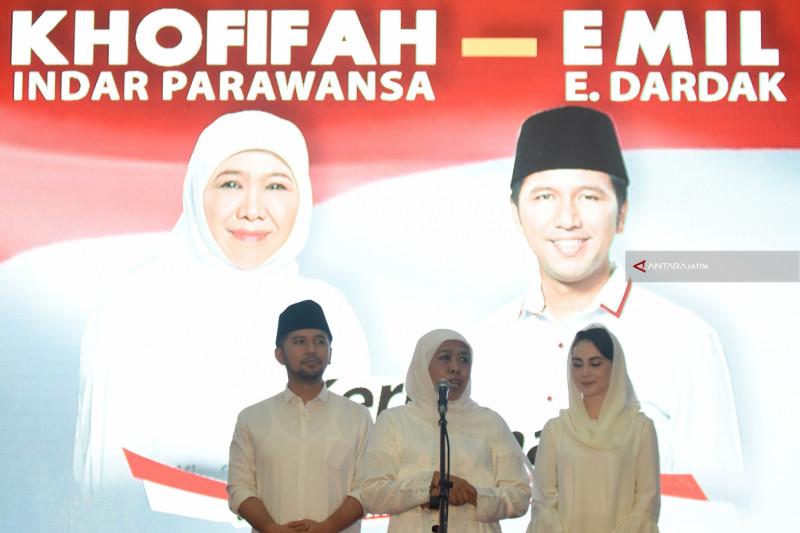 Khofifah-Emil dan Timnya Mundur dari TKD Jokowi
