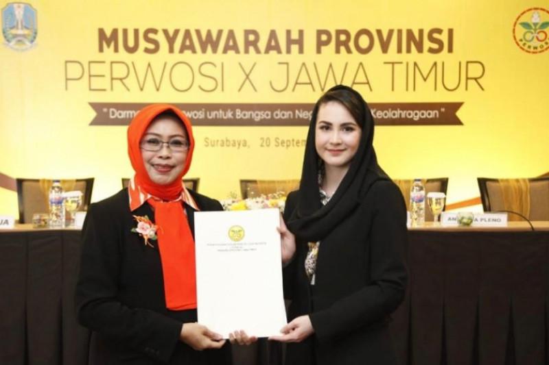 Arumi Gantikan Fatma Saifullah Yusuf Pimpin Perwosi Jatim