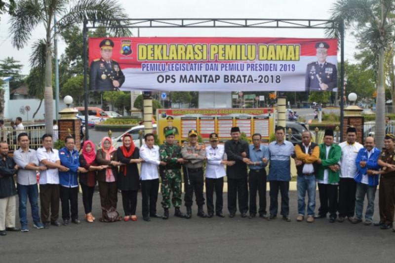 Polres Ngawi Waspadai Praktik Politik Uang Pemilu 2019