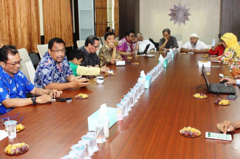 Muhammadiyah Bangun 670 Rumah Hunian Sementara di Lombok