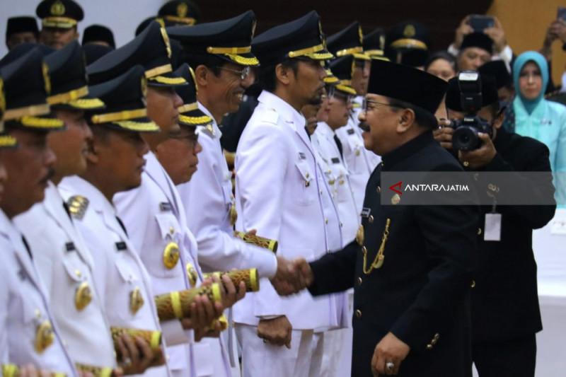 Pakde Karwo Ingatkan Kepala Daerah Pembangunan Visi Misi Presiden