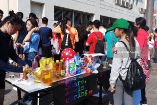 Spins-Interact Club Surabaya Bangun Dua Sekolah di Lombok