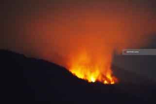 Seratus Pendaki Lawu Terjebak Akibat Kebakaran Hutan