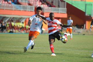 Borneo FC Kalahkan Madura United