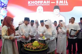 Tasyakuran Relawan Khofifah-Emil