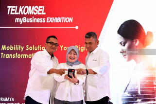 Telkomsel myBusiness Exhibition