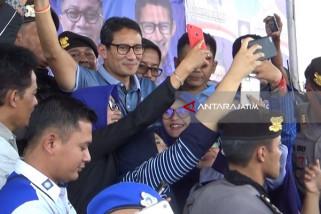 Sandiaga Targetkan Wilayah Madiun Sebagai Kantong Suara (Video)