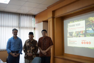 ITS-Northeastern University AS Jajaki Kerja Sama Magang Industri