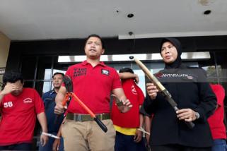 Polrestabes Surabaya Gulung Komplotan Pencuri