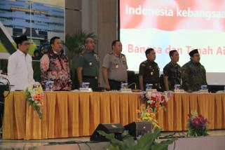 Polda Jatim-Kodam V/Brawijaya Paparkan Kesiapan Pengamanan Pemilu 2019