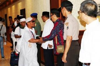 Jamaah Haji Kota Probolinggo Tiba di Kantor Wali Kota Probolinggo