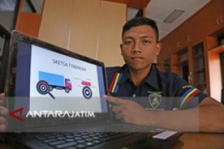 Tyrender, Alat Penurun Temperatur Gesekan Ban Karya Mahasiswa UMM
