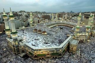 Jamaah Haji Indonesia Ramai Kunjungi Pasar Kurnis Jeddah