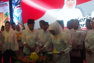Khofifah Nyatakan Dukung Jokowi di Pilpres 2019