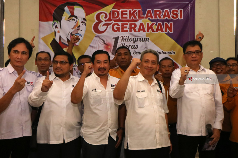 Deklarasi Relawan Jokowi Di Surabaya