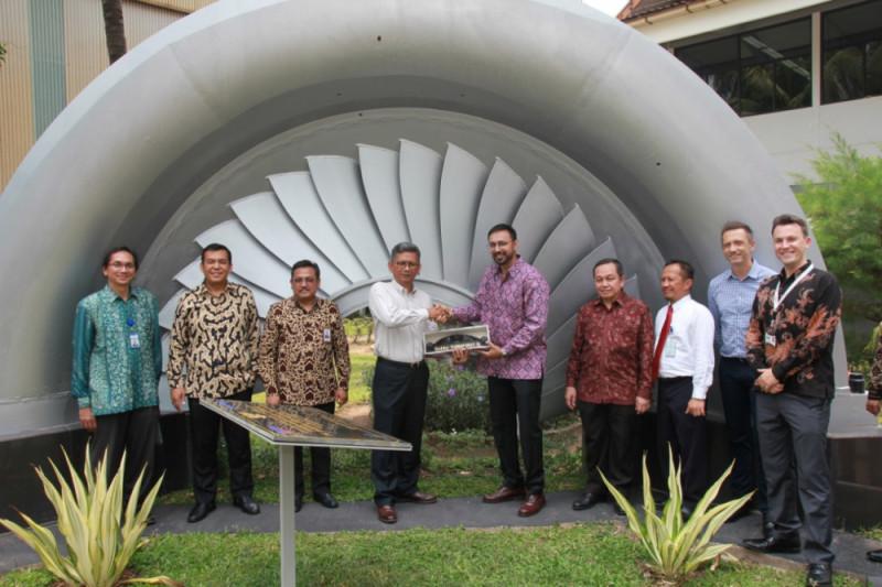 Barata Indonesia Ekspor Perdana Komponen Pembangkit Listrik