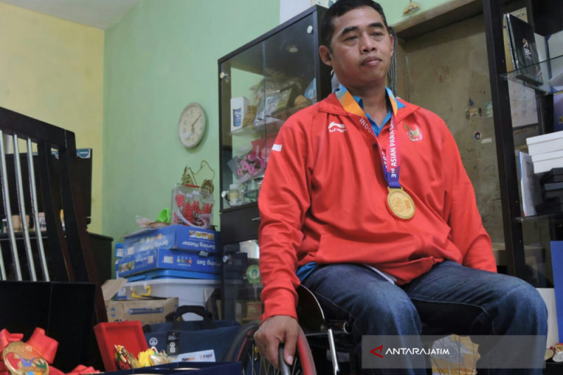 Atlet Situbondo Bangga Sumbang Emas Asian Para Games (Video)