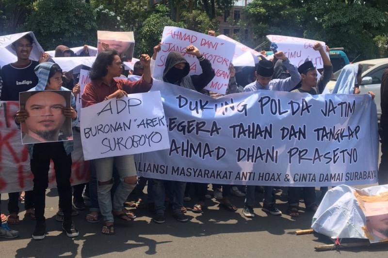 Aliansi Masyarakat Anti-Hoaks Desak Polisi Segera Tahan Ahmad Dhani