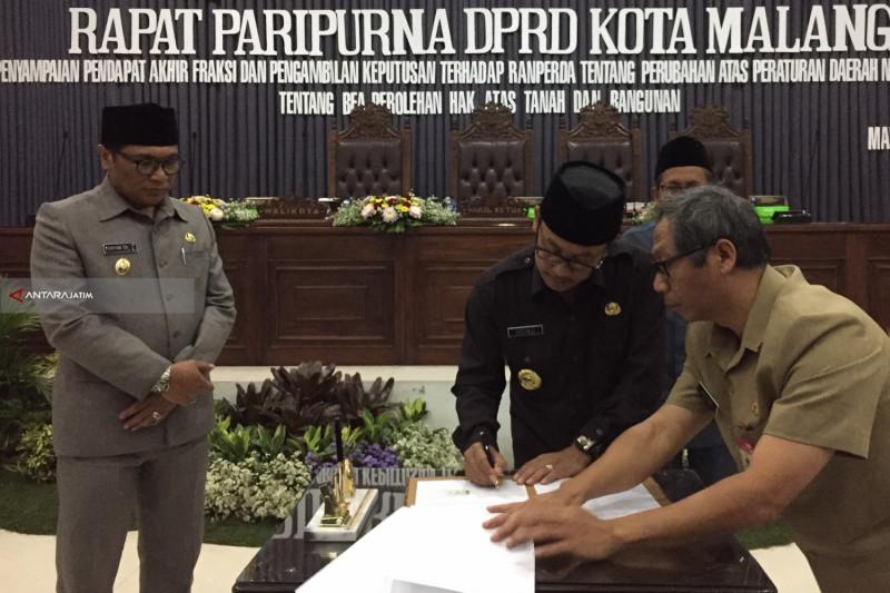 DPRD Kota Malang Setujui Raperda BPHTB