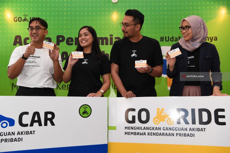 Go-Car L Bidik Pengguna Transportasi Keluarga Surabaya