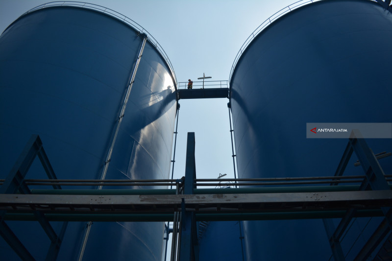Pelayanan Tank Storage Di Terminal Nilam