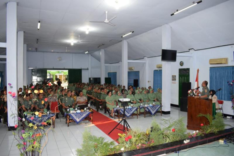 Danrem Madiun Ingatkan Pentingnya Sinergisme TNI-Polri