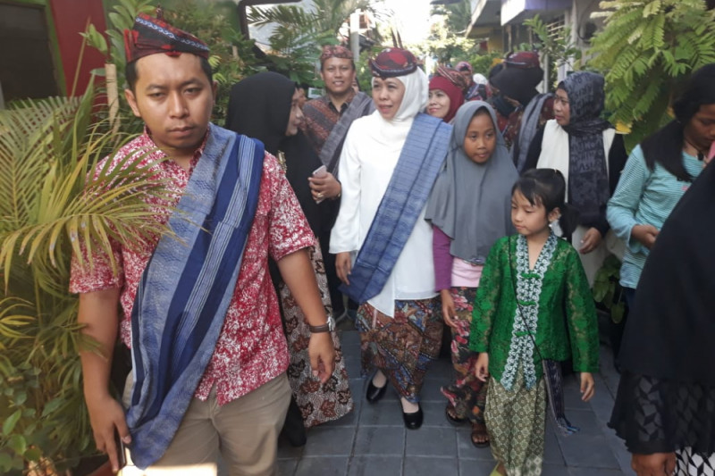 Khofifah Dorong Kunjungan Wisata Sejarah Kampung Maspati