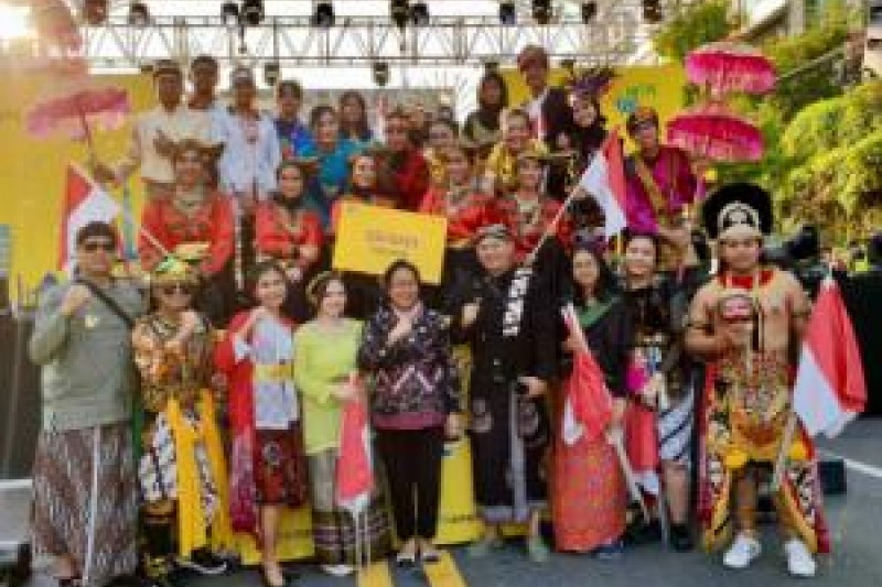 Indonesia Raih Medali Itaewon Festival Korsel