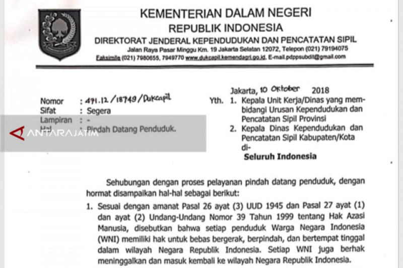 RT/RW Surabaya Keluhkan Aturan Baru Pindah Datang Penduduk