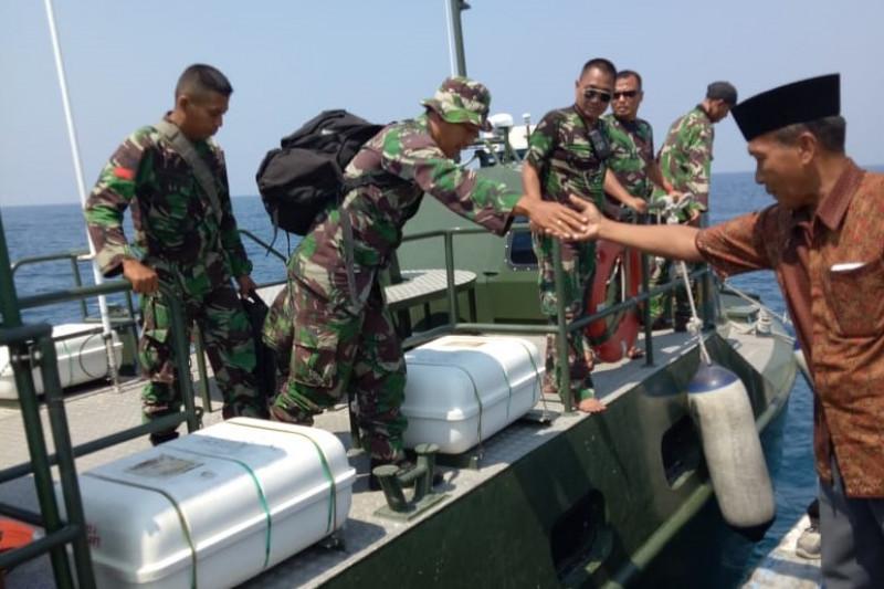 Bantu Korban Gempa, Tim Zeni Kodam Tiba di Sapudi