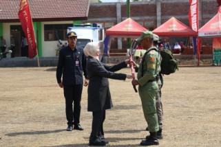 Bupati Haryanti Berharap TMMD Mampu Percepat Pembangunan Desa