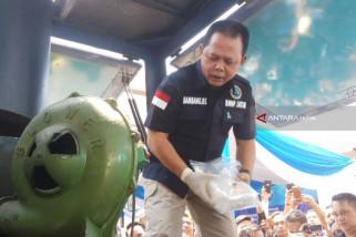 BNNP Jatim Musnahkan 5,8 Kilogram Sabu-Sabu