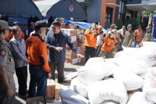 Pemkot Kediri Distribusikan Bantuan untuk Korban Gempa di Sulawesi Tengah