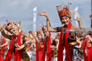 Festival Gandrung Sewu Banjir Pujian