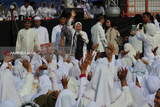 Ribuan Hafidz Quran Doa Bersama untuk Keselamatan Surabaya