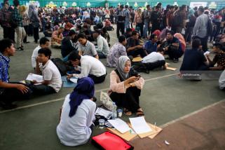 Dua Ribu Lowongan Pekerjaan Job Market Fair Diserbu Pencari Kerja