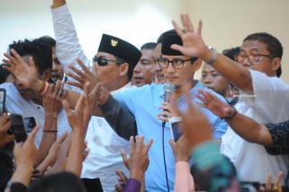 Prabowo-Sandiaga Kunjungi Ponpes Tebuireng