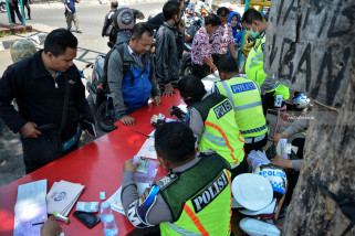 Polres Madiun Kota Tangani 2.000 Pelanggaran Lalu Lintas