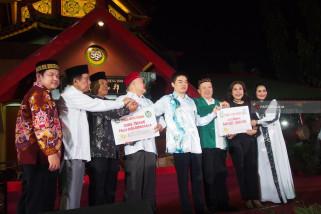 Masjid Cheng Ho Donasikan Rp800 Juta untuk Palu dan Sapudi