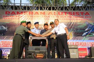 Pameran Alutsista TNI di Kota Madiun, Keren dan Seru